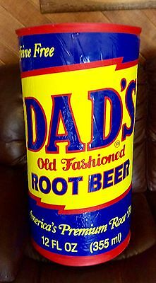 Vintage Dad's Root Beer Can Shaped Large Inflatable Collectable Advertising Nice