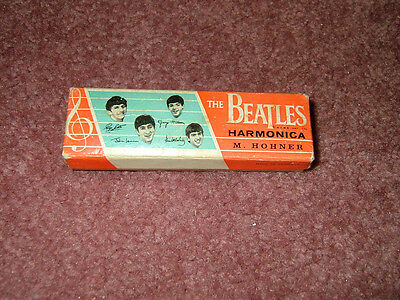 Beatles 1964 Hohner Harmonica Box. Version With Paul And George's Name Switched
