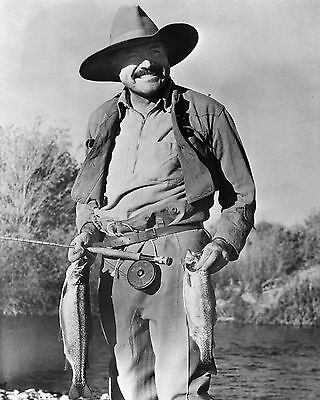 Photo: Author Ernest Hemingway Fishing in 1939