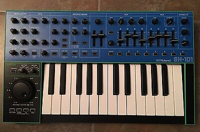Roland System-1 Keyboard Plug-Out Synthesizer With All Overlays SH-101 ProMars