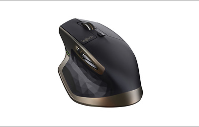 Logitech MX Master Wireless Mouse/Bluetooth Mouse for Windows and Mac -Black