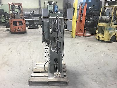 "ARO Water Cooled manual Rocker Spot Welder 22"" with Timer"