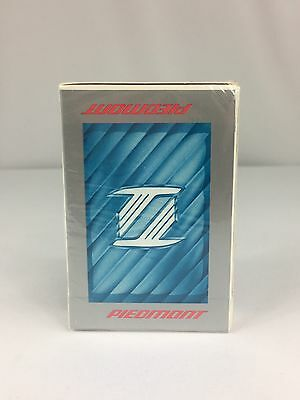 Piedmont Airlines Playing Cards Factory Sealed Bridge Size Made USA