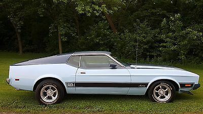 1973 Ford Mustang Mach 1 1973 Ford Mustang Mach 1 less then 41k Miles NO RESERVE you bid you buy