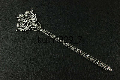 China new noble fashion Tibet silver carving Fancy Hairpin LJQQ123