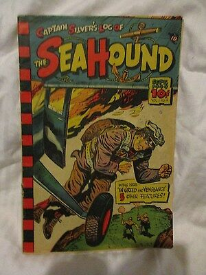 The Seahound # 4, Vol. 1, Vg, 1949, Captain Silver's Log Of, Syndicate, Rare