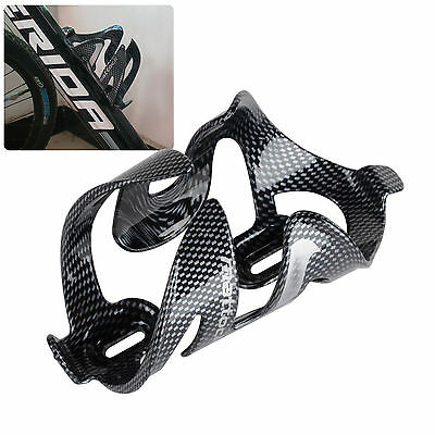 Glass Carbon Fiber Road MTB Bike Bicycle Cycling Water Bottle Holder Rack Cage