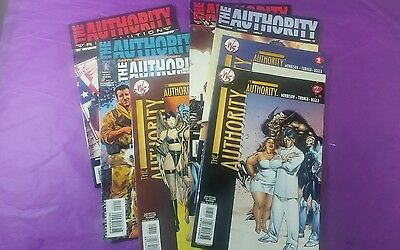 The Authority Comics 8 in the Lot