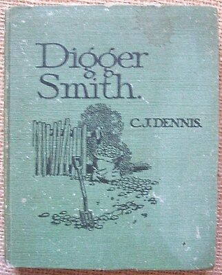 Digger Smith by C. J. Dennis, 1918 1st Edition