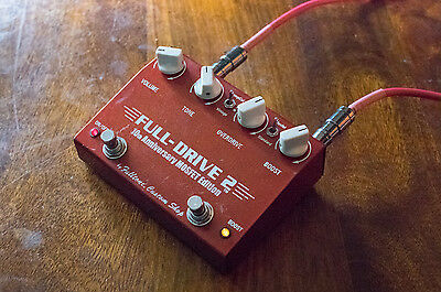 Fulltone Fulldrive 2 Mosfet 10th Anniversary Edition Custom Shop