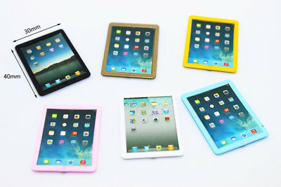 Dollhouse Miniature Toy Tablet PC Fashion Bedroom Furniture Kid Gift 1:12
