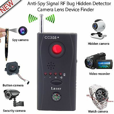 New Anti-Spy Signal RF Bug Detector Hidden Spy Camera GSM Device Finder Tracer