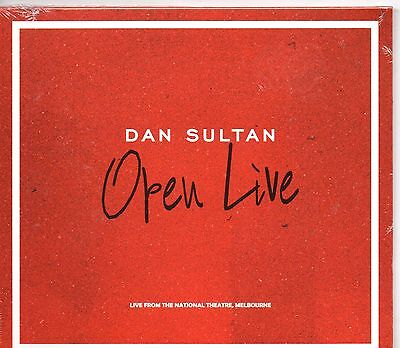 DAN SULTAN-OpenLIVE: Live From The National Theatre, Melbourne CD-Brand New-Stil