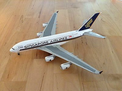 Die Cast Model Aircraft 1:400 -  Singapore Airlines Airbus A380 First to Fly