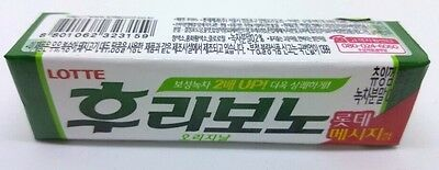 Lotte Flavono Chewing Gum Original Flavor Made in Korea