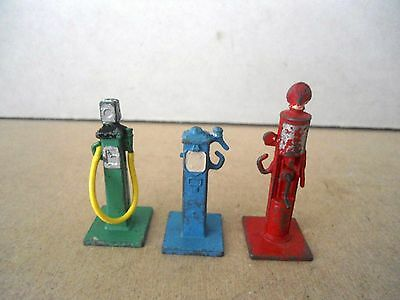 Dinky Toys no.49 Petrol Pumps - Green/Red & Blue.Vintage Original Items