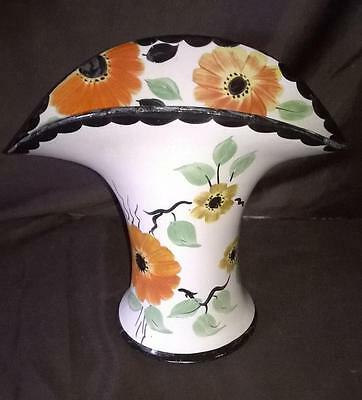 ART DECO - ARTHUR WOOD - VINTAGE FLOWER VASE - Circa 1930s - RARE COLLECTIBLE