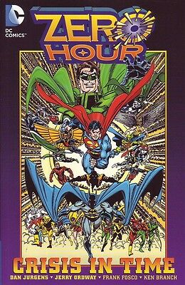 Zero Hour Crisis in Time trade paperback DC Comics