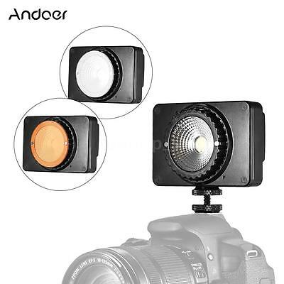 Andoer SC-408 Mini LED Video Light Photo Studio Lamp with Filter/Adapter SP R6T1