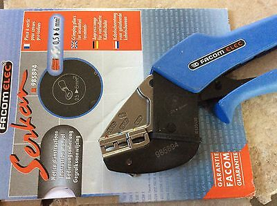 FACOM Maintenance Crimping Plier Pliers For Insulated Terminals 985894 NEW