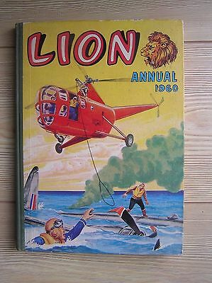 "A ""lion"" Annual 1960: A Vintage Hardback Storybook For Boys: Vg Condition"