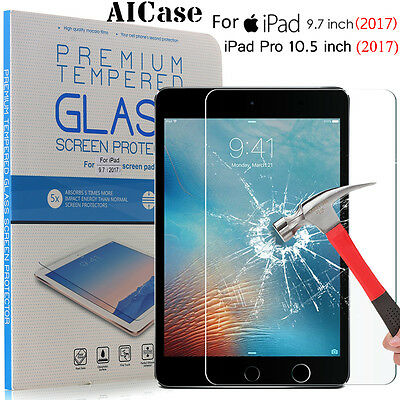 """Tempered Glass Screen Protector For Apple New iPad 9.7""""/ iPad Pro 10.5"""" 2017"""