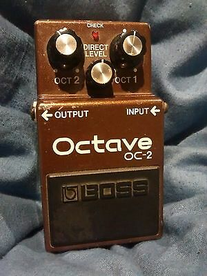 Boss OC-2 Octave MIJ Japan Vintage Effects Pedal ~FREE POSTAGE~