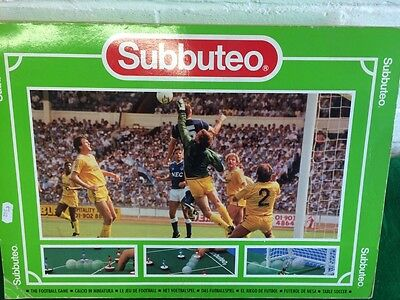 Vintage Subbuteo Set VGC - COMPLETE with Extras - Collectable