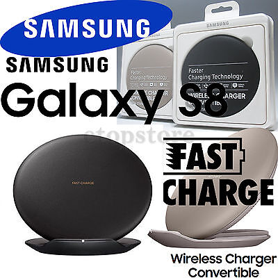 Genuine Samsung Wireless Fast Charger Convertible Pad For Galaxy S8 & S8 Plus AU