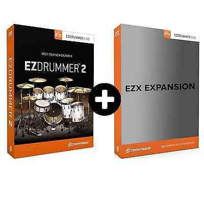 Toontrack EZdrummer 2 + EZX Expansion Pack of Choice (Serial Download)