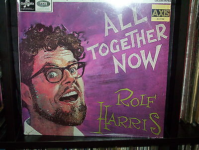 "Rolf Harris All Together Now - Rare Australian Lp Record Vinyl 12"" 33/3 - New"