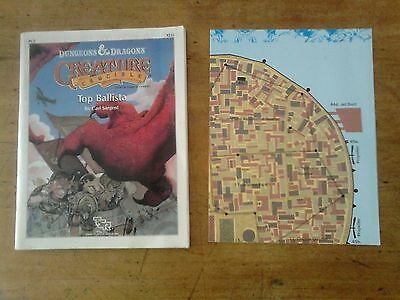 Dungeons & Dragons. Creature crucible. Top Ballista. 1989. TSR. Good condition