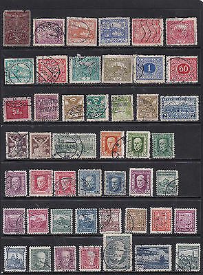 Czechoslovakia - Wide Ranging Stamp Selection  2 SCANS (Cz17052)