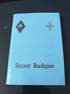 old 1970s Irish scout badge book scouting