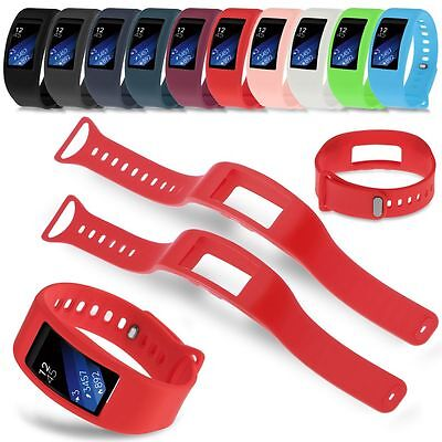 New Luxury Silicone Watch Replacement Band Strap For Samsung Gear Fit 2 SM-R360