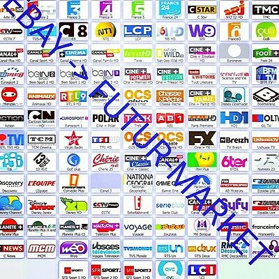 6 Month IPTV abonnement 5000+ chaînes TV + VOD (Smart TV, IOS, Android, Kodi,