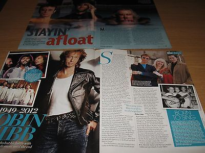 BEE GEES - 2 x  Magazine Clipping