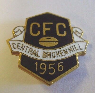 1956 Central Broken Hill Football Club Member Badge
