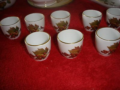 ROYAL WORCESTER  EVESHAM GOLD  EGG CUP  several available
