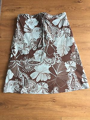 Mamas And Papas Summer Maternity Skirt Size 10