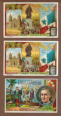 Explorer, CHRISTOPHER COLUMBUS: Group of  RARE Victorian Trade Cards (1900)