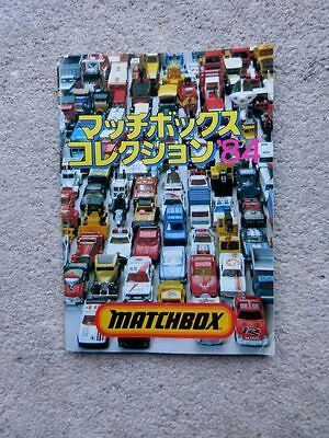 Matchbox Toy Catalog 1984 From Japan FREE SHIPPING