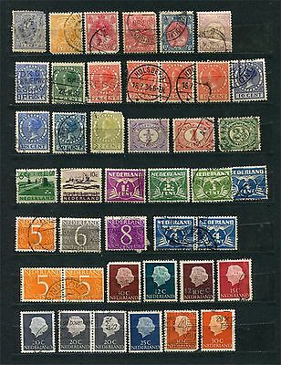 Netherland, lot of stamps, mainly used
