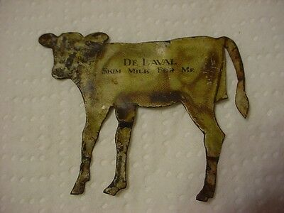 Antique--De Laval Cream Separator--Advertising Calf--Tin Litho--Premium--Estate