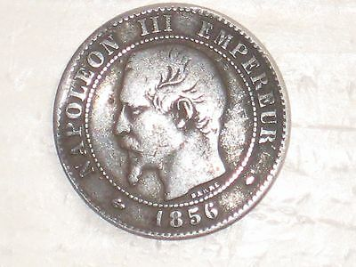 World Coins - France - 2 Centimes - 1856