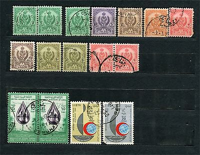 Libya, lot of stamps, used