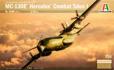 Lockheed MC-130E Hercules Combat Talon I 1:72 Model Kit Bausatz Italeri 1369