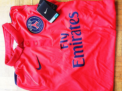 Maillot Psg 2014/2015 Rouge L