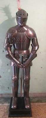 Medieval Knight Crusader Full Suit Of Armor Collectible Costume