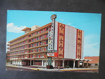 1960s Route 66 Postcard Albuquerque New Mexico Downtowner Motor Inn